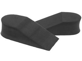키높이 뒤굽깔창-4cm (블랙) HINSOLE-40