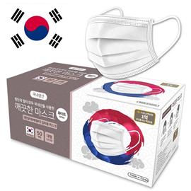 깨끗한 마스크-국내 원단 MB 3중 필터 (50매) KDMBMASK