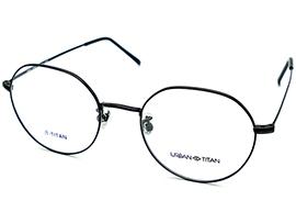 티타늄 동글이 안경테 (발수코팅 자외선 차단 변색 렌즈) M6 UR_M6-CW