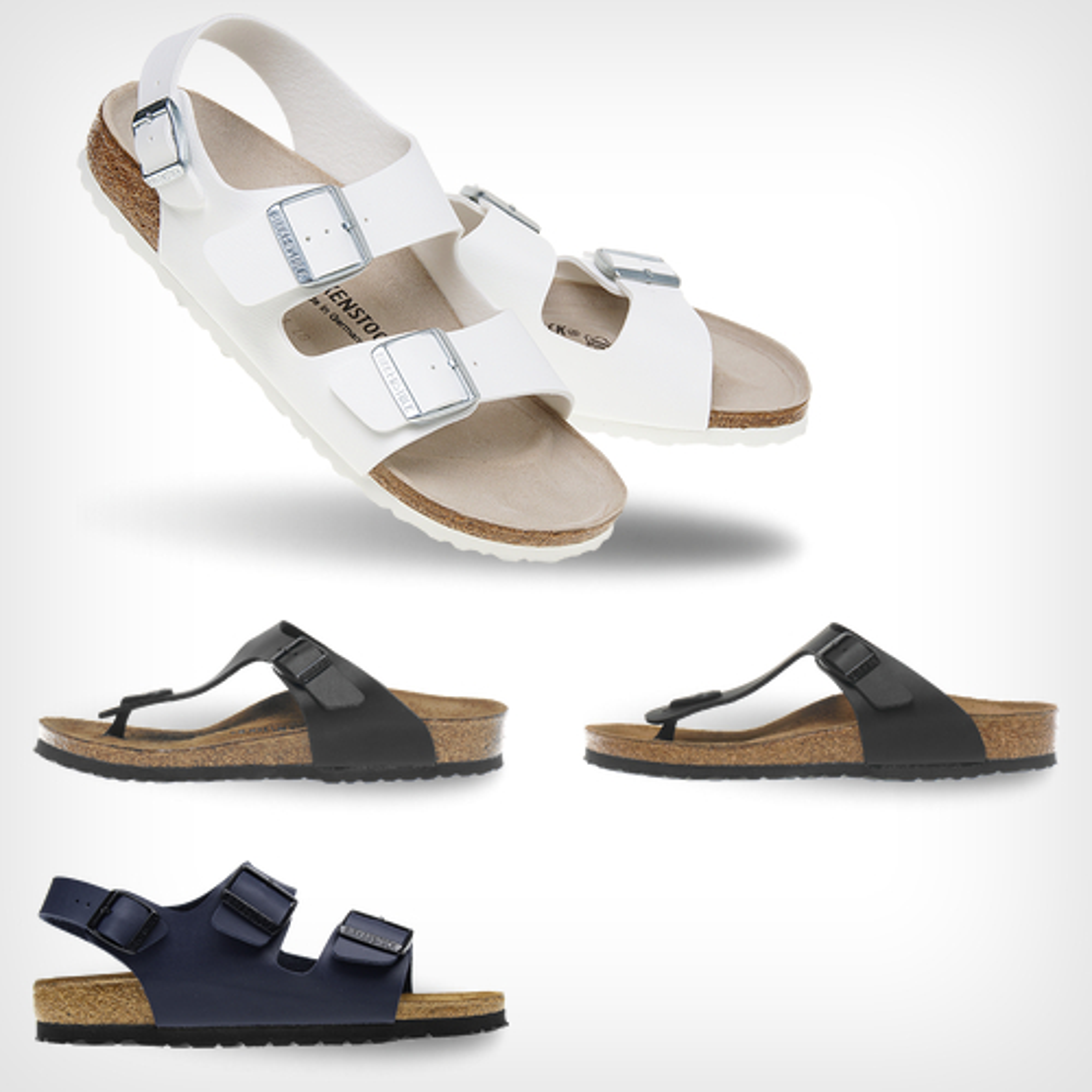 버켄스탁 슬리퍼 흰색 검정 발이편한 여름 댄디 신발
